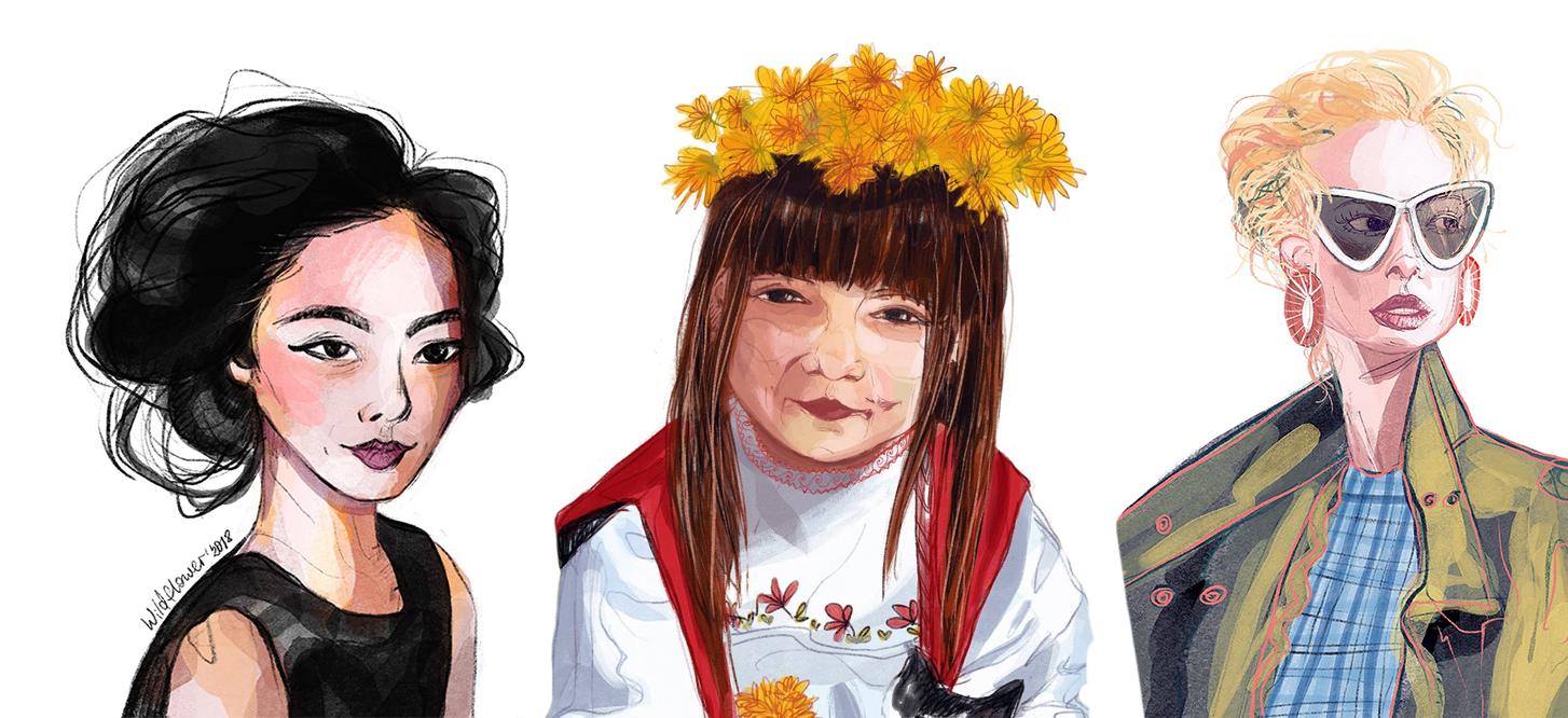custom portraits digital art by order
